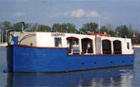 Built in 1984 in Maumee, Ohio, the 100-passenger Sandpiper boat has been providing enjoyable sailing experiences along the Maumee River ever since.
