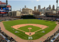 The Detroit Tigers are a Major League Baseball team located in Detroit, Michigan. One of the American League's eight charter franchises, the club was founded in Detroit in 1894 as part of the Western League. Catch a Tigers game at Comerica Park.