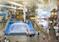 Michigan is currently home to seven indoor water park hotels. Michigan is a perfect fit for indoor water parks since we have such a brief time frame for swimming outdoors. Stay at one of Michigan's numerous Indoor Water Park Hotels.